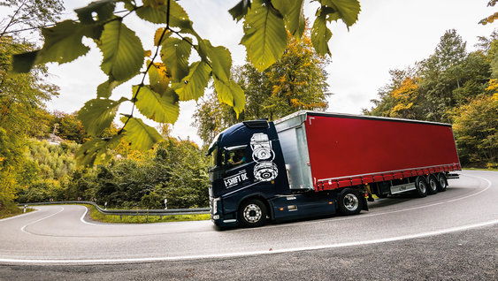 Selected Used Trucks are rigorously tested and protected by service programmes