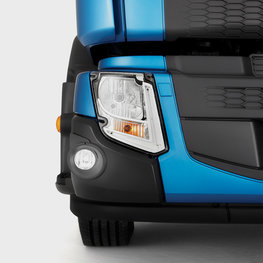 Luces LED de un Volvo FE